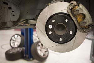 Brakes on cars, four wheel drives and light commercial vehicles